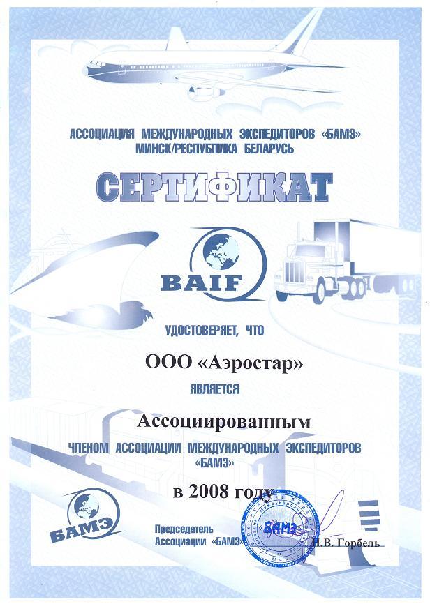 БАМЭ 2008